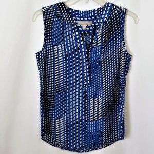 Banana Republic Tops - Banana Republic Geometric Stripe Sleeveless Top
